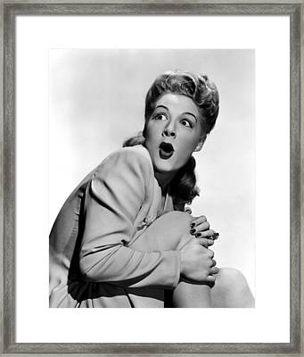 Lets Face It, Betty Hutton, 1943 Framed Print by Everett