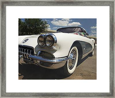 Framed Print featuring the photograph Let's Roll by Cheri Randolph