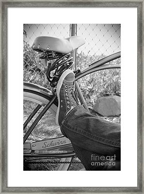 Let's Take A Break Framed Print