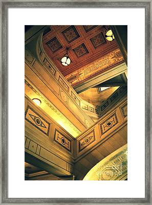 Levels Framed Print by Xiaoting Kuang