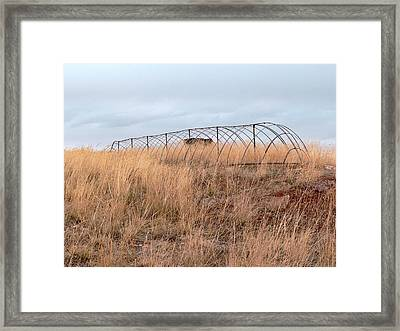 Lewis And Clark's Experiment Framed Print