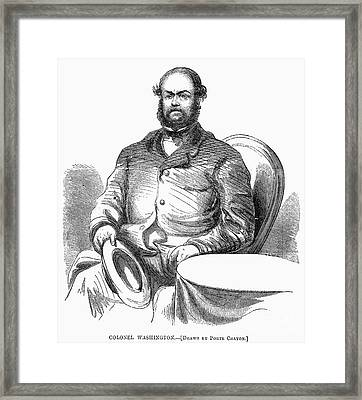 Lewis William Washington Framed Print by Granger
