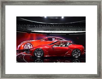 Lexus Lf-lc Framed Print by Randy J Heath