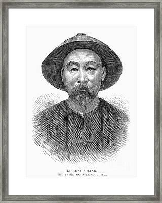 Li Hung-chang (1823-1901) Framed Print by Granger