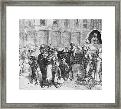 Liberated Slaves, 1861 Framed Print by Photo Researchers