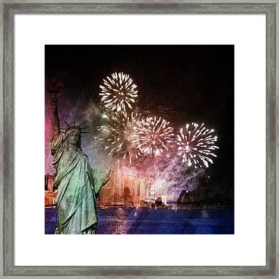 Liberty Framed Print by Elizabeth  Doran