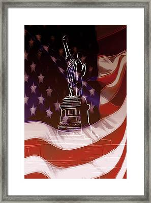 Liberty For All Framed Print by Steve K