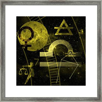 Libra Framed Print by JP Rhea