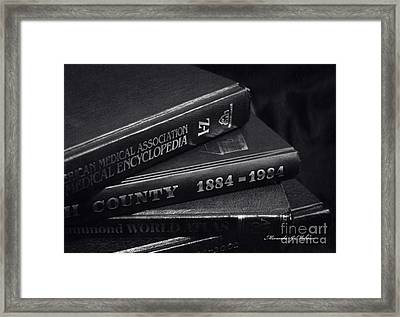 Library Framed Print by Miranda Mehrer