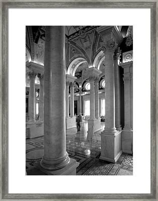 Library Of Congress Framed Print