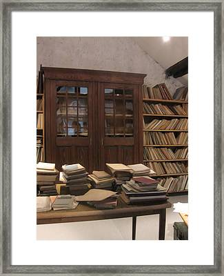 Library Sproockenhaus Framed Print