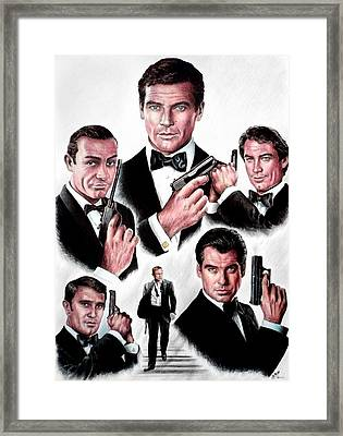 Licence To Kill  Digital Framed Print by Andrew Read
