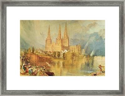 Lichfield Framed Print by Joseph Mallord William Turner
