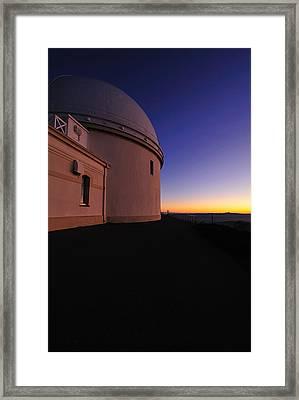 Lick Observatory Framed Print by Richard Leon