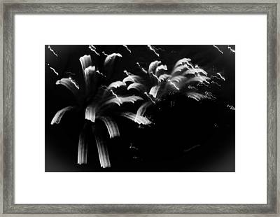 Licorice Sky Framed Print by DigiArt Diaries by Vicky B Fuller