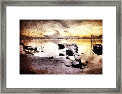 Lido Framed Print by Andrea Barbieri