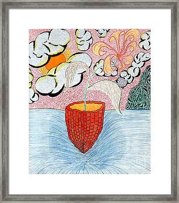 Life A Jug A Vessel Framed Print by Yury Bashkin