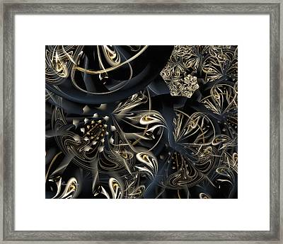 Life And Complexity Framed Print