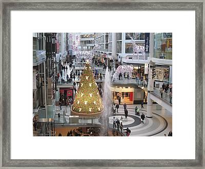 Life At The Mall Framed Print by Alfred Ng