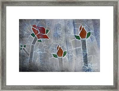 Life Behind The Veil Framed Print by The Stone Age