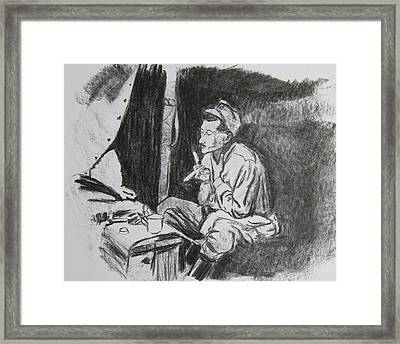 Life In Gallipoli Framed Print