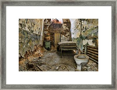Life In Prison Framed Print by Paul Ward