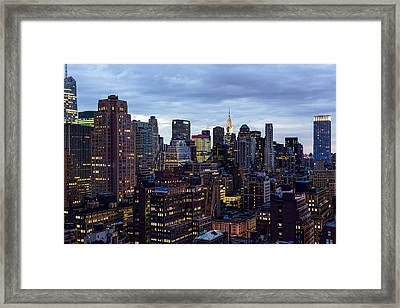 Life In The Big City Framed Print by Janet Fikar