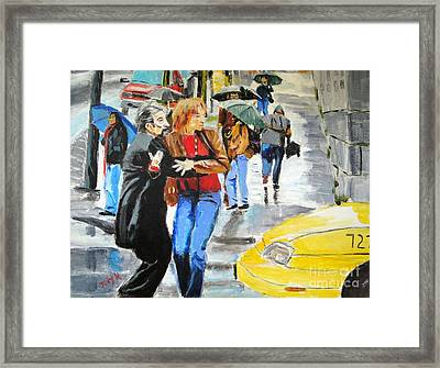 Life In The Big City Framed Print