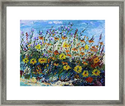Life In The Meadow Framed Print by John Williams