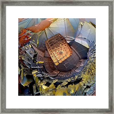 Life Is Game Of Dice. Framed Print by Tautvydas Davainis
