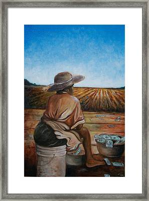 Life Is Good Framed Print by Emery Franklin