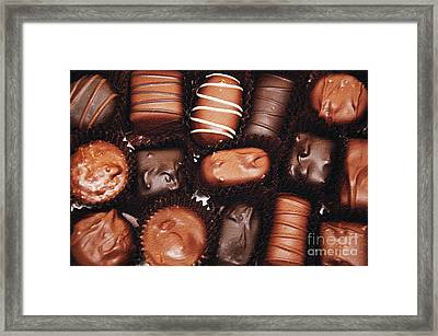 Life Is Like A Box Of Chocolates 1 Framed Print by Andee Design