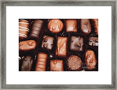 Life Is Like A Box Of Chocolates 2 Framed Print by Andee Design