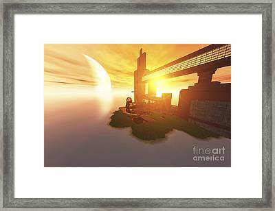 Life On Another World Framed Print