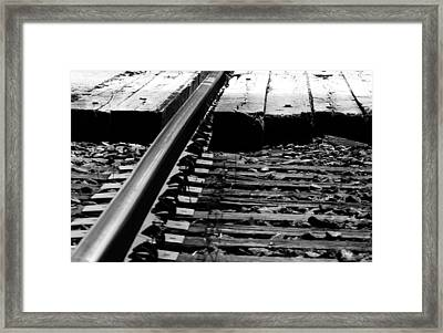 Life On The Line Framed Print by Empty Wall
