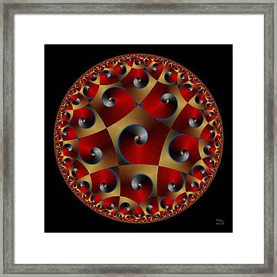Life Signs IIi Framed Print by Manny Lorenzo
