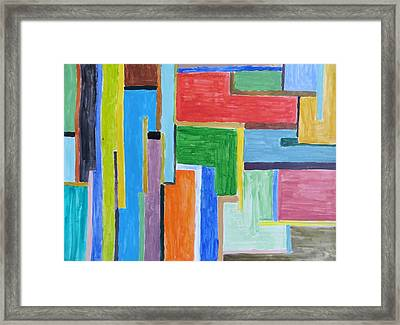 Framed Print featuring the painting Life by Sonali Gangane
