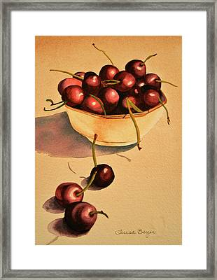 Framed Print featuring the painting Life by Teresa Beyer
