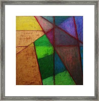 Life Tiles Framed Print by Diane montana Jansson