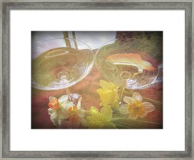 Framed Print featuring the photograph Life's Simple Pleasures by Kay Novy