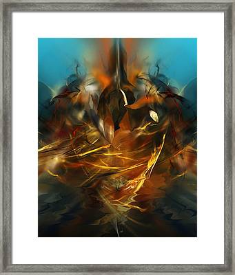Lift Off Framed Print by David Lane