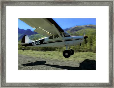 Lift Off Framed Print by Kelly Turnage