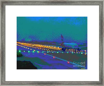 Lift Off Framed Print by Rogerio Mariani