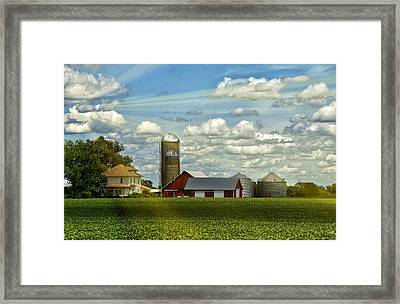 Light After The Storm Framed Print by Bill Tiepelman