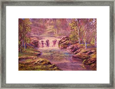 Light And Color Framed Print by Michael Mrozik
