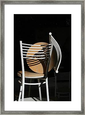Light And Shadow Framed Print by Adeeb Atwan