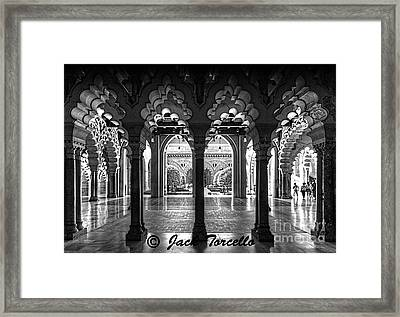 Framed Print featuring the photograph Light And Symmetry by Jack Torcello
