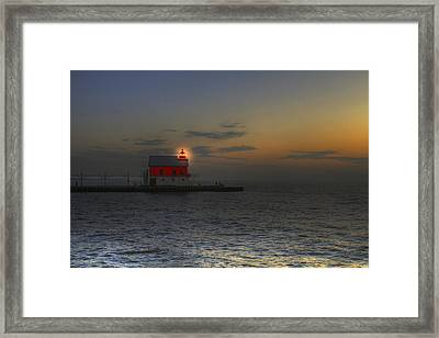 Light At Dusk Framed Print