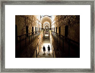 Light At The End Of The Journey Framed Print by Ellie Teramoto
