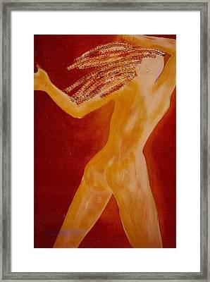 Light Body Framed Print